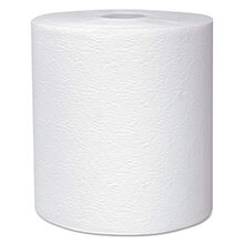 "KLEENEX Hard Roll Towels, 8 x 600', 1.75"" Core Dia, White KCC50606"