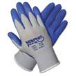 Memphis Flex Seamless Nylon Knit Gloves, Small, Blue/Gray, Pair MCR96731S