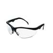 Klondike Plus Safety Glasses, Black Frame, Clear Lens MCRKD310