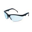 Klondike Plus Safety Glasses, Black Frame, Light Blue Lens MCRKD313