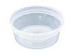 DELItainers, 1-Comp, Black/Clear - (24) 16 oz. Containers PACYSD2516