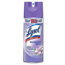 Disinfectant Spray, Liquid, 12.5 oz. Aerosol Can