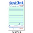 Guest Check Book, 3 1/2 x 6 7/10 RPPGC3632-1