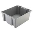 Palletote Box, 19gal, Gray RCP1731GRA