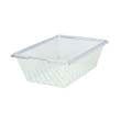 Rubbermaid [3322] Food Box Colanders, 12gal, 26w x 18d x 8h, Clear RCP3322CLE