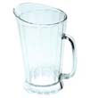 Rubbermaid [3334] Bouncer II Plastic Pitcher, 60oz, Clear RCP3334CLE