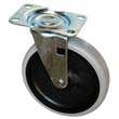 Replacement Swivel Casters, Bayonet, 5in Wheel, Black RCP4501-L2