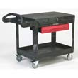 TradeMaster One-Shelf Cart - 500-lbs Capacity RCP4535-88BLA