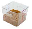 SpaceSaver Square Containers, Clear - 6 Qt. RCP6306CLE