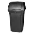 Ranger Fire-Safe Container, Square, Structural Foam, 35 gal, Black RCP8430-88BLA