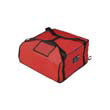 Rubbermaid [9F37] ProServe Pizza Delivery Bags, 21 1/2w x 19 3/4d x 7 3/4h, Red RCP9F37RED
