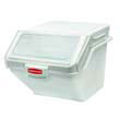 ProSave Shelf Ingredient Bins, White - 10.7 Gallon RCP9G58WHI