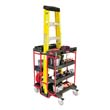 Ladder Cart w/ Open Ends - 7-Shelf RCP9T57BLA
