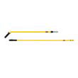 "Rubbermaid [Q749] Quick-Connect Steel Mop Handle, 52"", Yellow RCPQ749YEL"