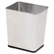 Stainless Steel Rectangular Wastebasket - 7.25 Gallon RCPWB29RSS