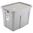 Roughneck Storage Box, 1gal, Steel Gray RHP2215CPSTE