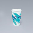 Jazz Hot Paper Cups, 10 oz., Polycoated, Jazz Design, 50/Bag SCC370JZJ
