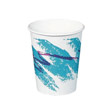 Jazz Hot Paper Cups, 8 oz., Polycoated, Jazz Design, 50/Bag SCC378JZJ