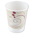 Paper Hot Cups, Polylined, 12 oz., Symphony Design, 50/Pack SCC412SMSYM
