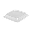 Expressions HF Container Lids, Clear, 8.98w x 8.98d x 1.18h SCC975018-PP90