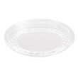 Bare Eco-Forward RPET Deli Container Lids, 8oz, Clear, 50/Pack SCCLG8R