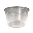 M-Line Food Container Cups, 16 oz, Plastic, Clear, 50/Pack SCCMC160X