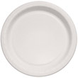 "Bare Eco-Forward Clay-Coated Paper Plates, 8.5"", Deep Well, Mediumweight, 125/Pk SCCMP9B"