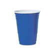 Plastic Party Cold Cups, Blue - (1000) 16 oz. Cups SCCP16BRL