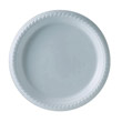 Plastic Plates, 9 Inches, White, Round, 25/Pack SCCPS95W