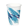 Hot Paper Vending Cups, 8 oz., Jazz Design, 100/Bag SCCPV588J