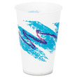 Jazz Waxed Paper Cold Cups, 7 oz, Tide Design SCCR7NJ