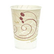 Waxed Paper Cold Cups, 9 oz., Symphony Design, 100/Bag SCCR9NSYM