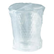 Diamond Tumbler Plastic Cups, 10 oz., Clear, Individually Wrapped, 25/Bag SCCWTC10X