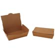 ChampPak Carryout Boxes, 2lb, 7 3/4w x 5 1/2d x 1 7/8h, Brown SCH0732
