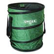 Nifty Nabber Bagger Portable Waste Receptacle, Round, Cloth, 55 gal, Green UNGNB300