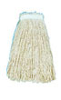 Cut-End Wet Mop Head, Cotton, #24 Size, White UNS2024C