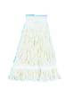 Pro Loop Web Mop Head, White - (12) 24 oz. Mop Heads BWK524C