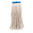 Cut-End Lie-Flat Wet Mop Head, Rayon, 16-oz., White UNS716R