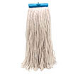 Cut-End Lie-Flat Wet Mop Head, Rayon, 24-oz., White UNS724R