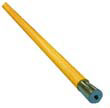 "Lie-Flat Screw-In Mop Handle, Lacquered Wood, 1 1/8"" Diameter x 54"" UNS833"