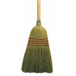 "Maid Broom, Mixed Fiber Bristles, 42"" Wood Handle, Natural UNS920Y"