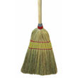 "Parlor Broom, Yucca/Corn Fiber Bristles, 42"" Wood Handle, Natural UNS926Y"