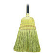 "Warehouse Broom, Yucca/Corn Fiber Bristles, 42"" Wood Handle, Natural BWK932Y"