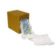 "Flash Forty Disposable Dustmop, Cotton - 5"" x 40 ft. BWKFF40"