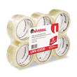"Box Sealing Tape, 2"" x 55 yards, 3"" Core, Clear UVS63000"