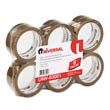 "Box Sealing Tape, 2"" x 55 yards, 3"" Core, Tan UVS63001"