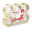 "Box Sealing Tape, 2"" x 110 yards, 3"" Core, Clear UVS63500"
