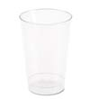 Plastic Tumblers, Cold Drink, Clear, 12 oz WNAT12
