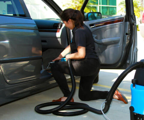 auto detailing carpet cleaning extractor