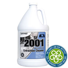 Nilodor CERTIFIED Highly Concentrated 2001 Extraction Cleaner